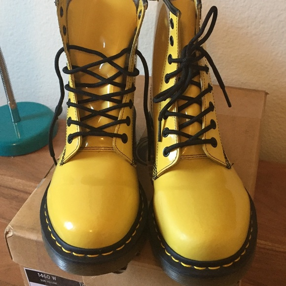 e41d056496 Dr. Martens Shoes | Sunshine Yellow Doc Martens | Poshmark